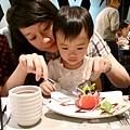 陶板屋_跟姑姑一起吃沙拉_20110709.jpg