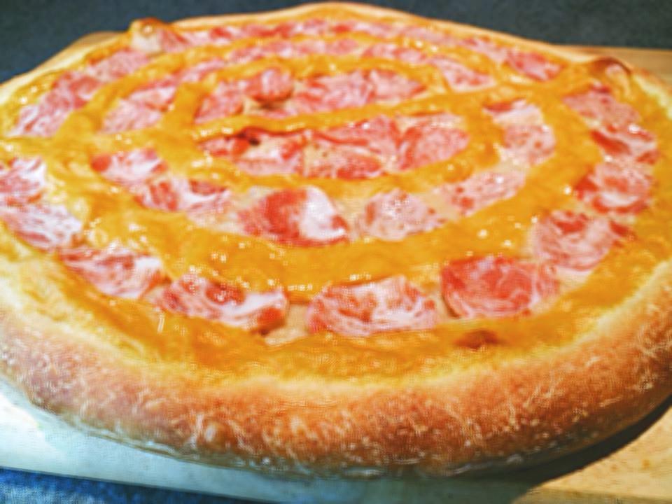 素披薩 pizza