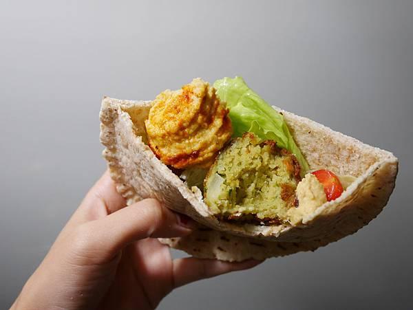 中東料理falafel