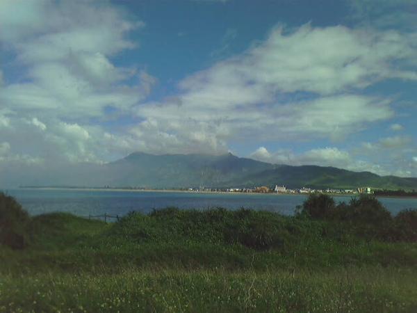 第二天 出發前拍宿舍後面的海
