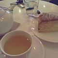 栗子千層蛋糕~櫻花綠茶~