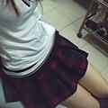 我愛的格子裙~ 逛街作實驗都穿