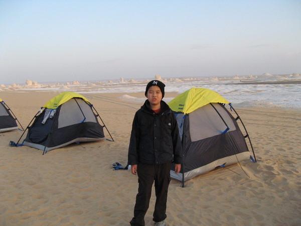 西部沙漠露營