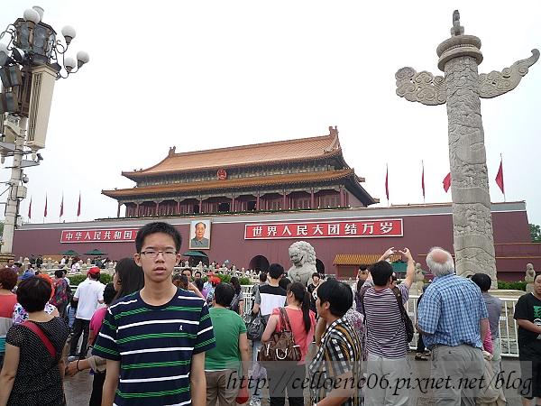 北京紫禁城天安門
