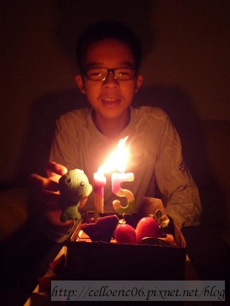 15歲的生日