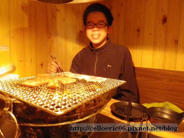 田季發爺吃烤肉