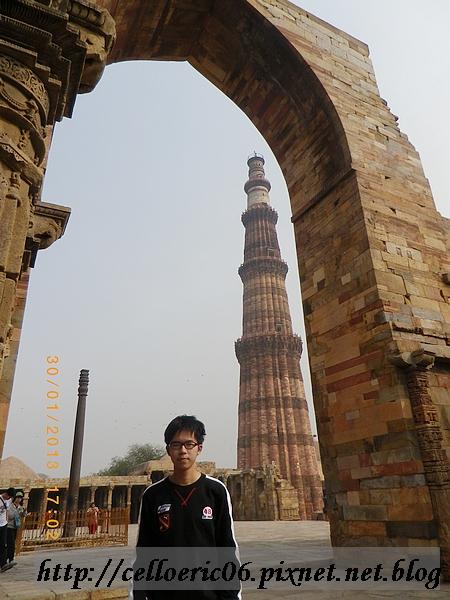 【新德里】古達明那塔(Qutab minar tower)