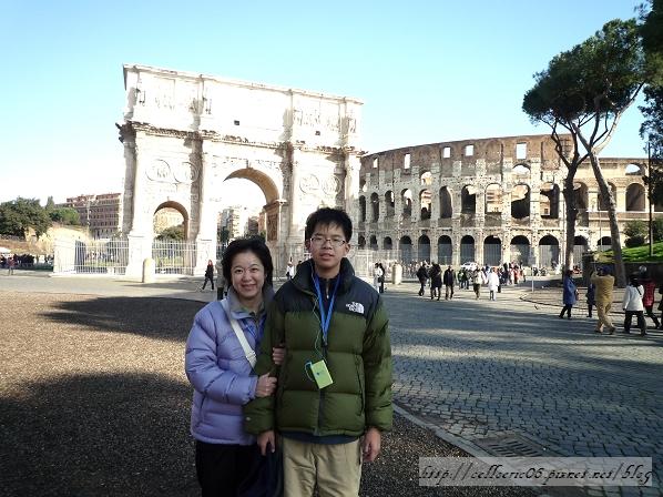 【羅馬】凱旋門、競技場