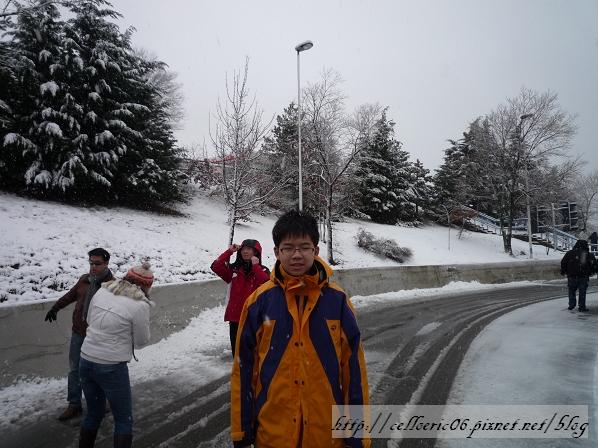 托斯卡尼下雪了