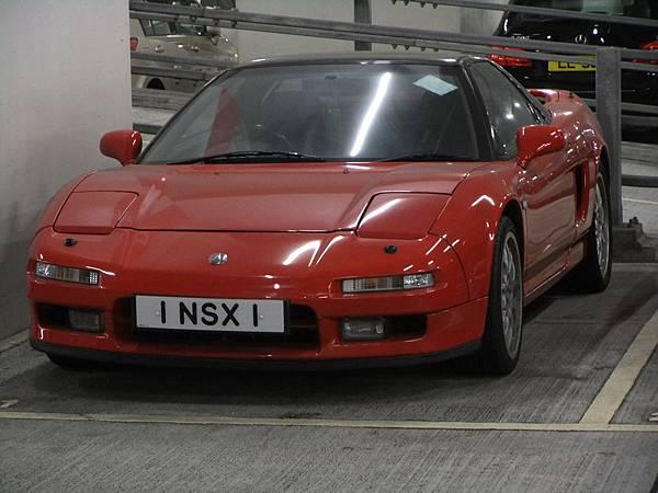 ACURA NSX 香港特殊車牌 (AD1)