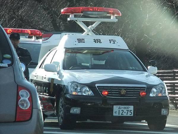 TOYOTA S180 CROWN 警車 (1)