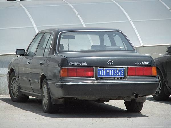 TOYOTA S132 CROWN Sedan RoyalSaloon 遼O-M (P1)