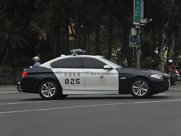 BMW F10 臺北交通大隊