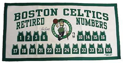 Celtics Retired Numbers