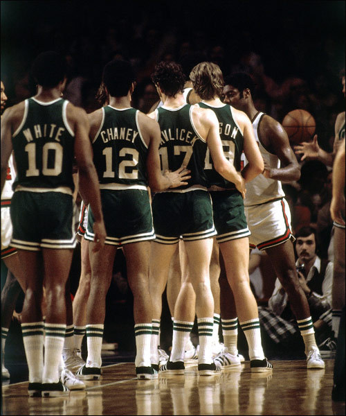 """stack"" inbound - JoJo White, Don Chaney, John Havlicek, Don Nelson"