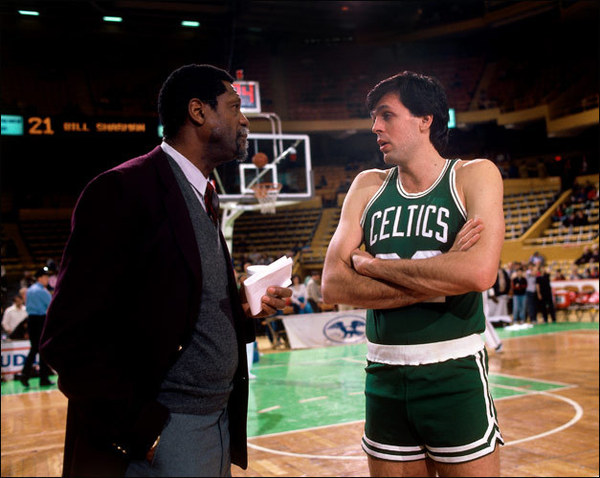 Bill Russell, Kevin McHale