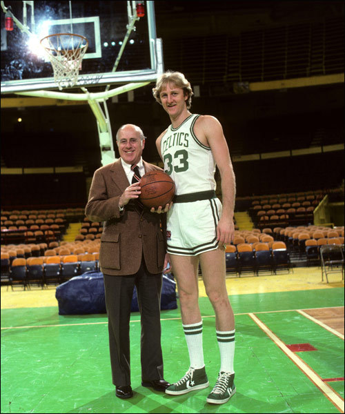 Red Auerbach, Larry Bird