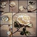 享受刺繡時光的靜諡,一針針編織花朵盛開的浪漫........ 一日緞帶剌繡課:Evon老師教妳把家裡多餘的緞帶,改造成花飾!