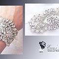 **水晶婚紗飾品開課了** (單選課程,限量推出),絶對是物超所值的課程! (歡迎訂製或報名上課)#縫珠刺繡課程