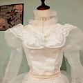 夢幻的復古蕾絲婚紗