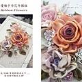 運用燒花和染花的技巧,可以讓緞帶花美的如詩如畫~ #Ribbonwork  #燒花 #染花 #造花