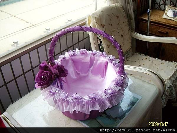 紫色喜糖籃(原始尺寸)