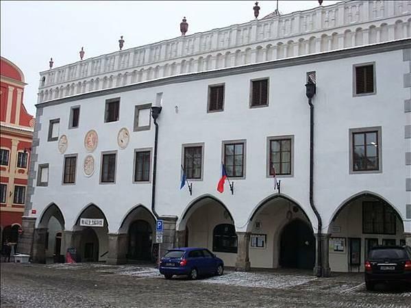 這是庫倫洛夫的市政廳