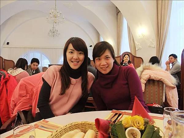 """午餐時間~新認識的朋友""""意琳"""""""