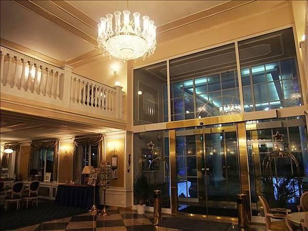 飯店進門大廳