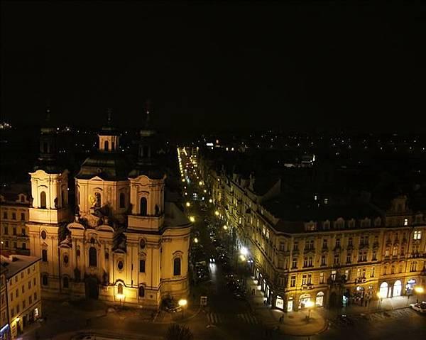 夜晚的布拉格有另一種的美