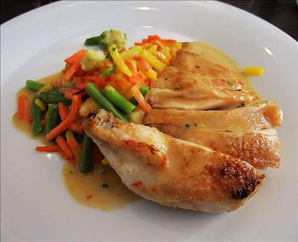 午餐也是在米其林餐廳用餐