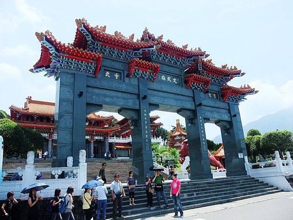 有名的寺廟~文武廟