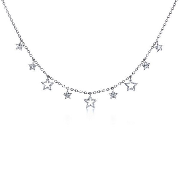Tiffany Stars charm necklace.