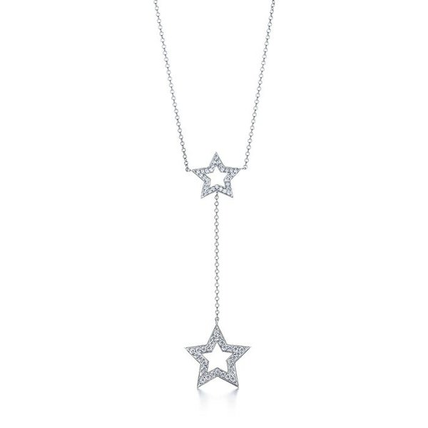 Tiffany Stars double drop pendant.
