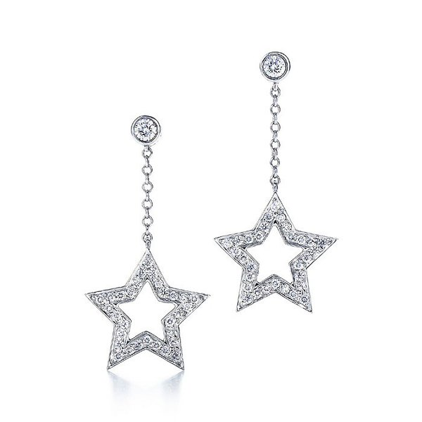 Tiffany Stars drop earrings.