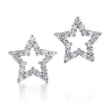 Tiffany Stars earrings.