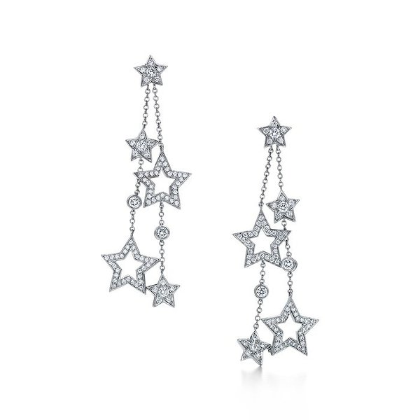 Tiffany Stars multi-drop earrings