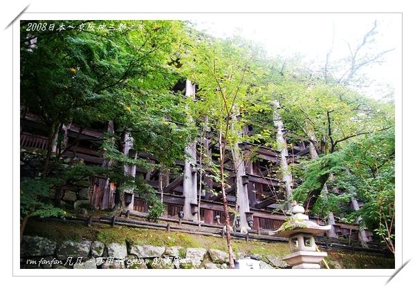 清水寺採用『棟梁結構式』設計