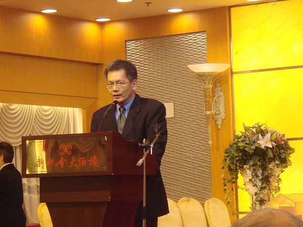 香港作家協會20週年晚宴誦詩