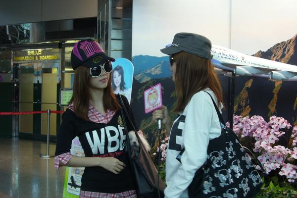 【09-11-07】By2桃園機場送機