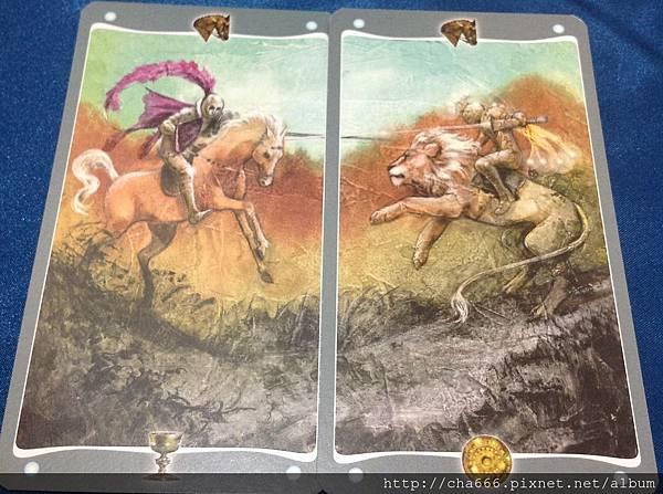 聖杯騎士&金幣騎士