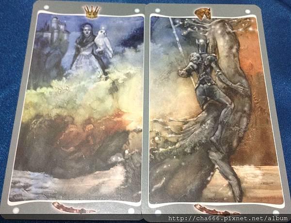 權杖王后&權杖騎士