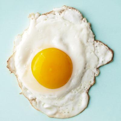 Eggs-over-easy
