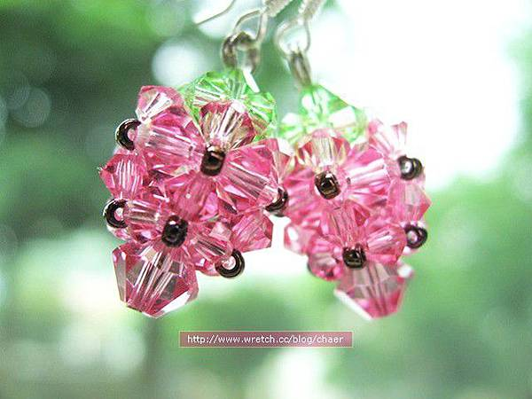 <耳環>★Q草莓★