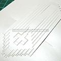 用超大枝美工刀割的「大聖殿」紙雕