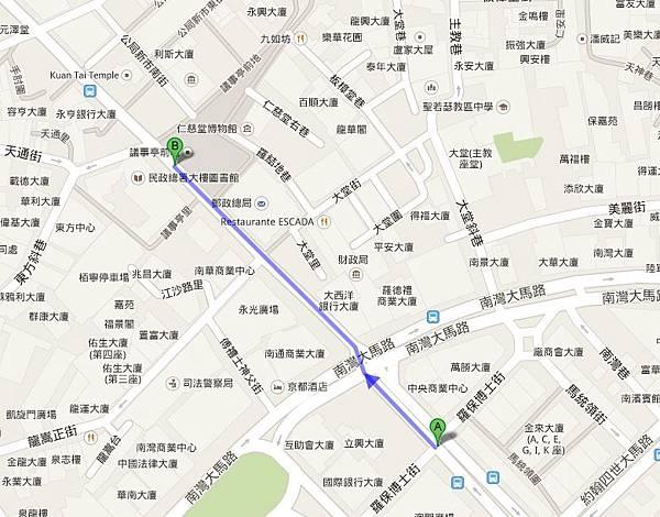議事亭 地圖