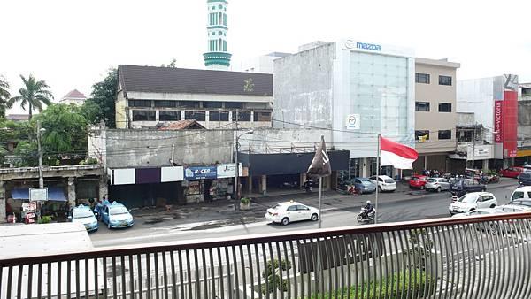從飯店拍攝的雅加達街景