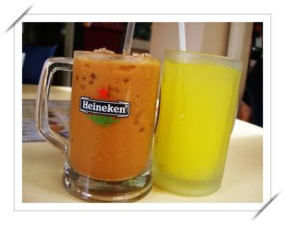 凍咖啡 + Lime Juice