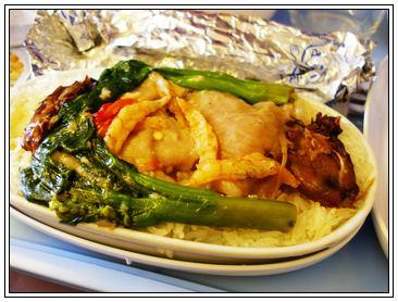 飛機餐一號 - 蝦米豬肉飯