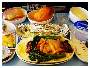 飛機餐一號 - 蝦米豬肉飯套餐